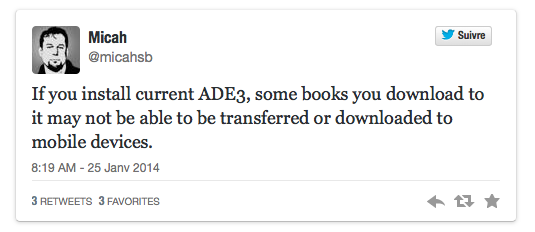 Bluefire contre le DRM d'abobe sur les livres numériques