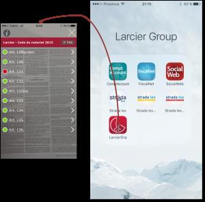 Larcier Group - Réalité augmentée