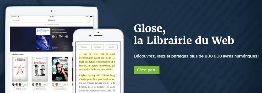 Glose librairie