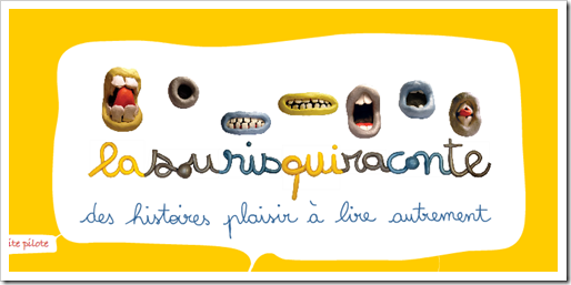 Logo la souris qui raconte