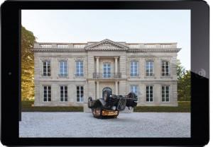 Claude Lévêque - application iPad