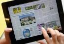La presse numérique en passe de dépasser la presse papier ?