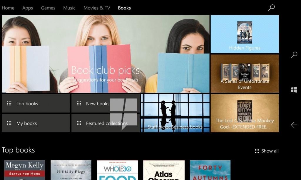 Microsoft ebooks