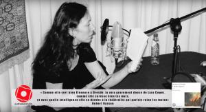 Lara Cowez lit Eléonore à Dresde de Hubert Nyssen