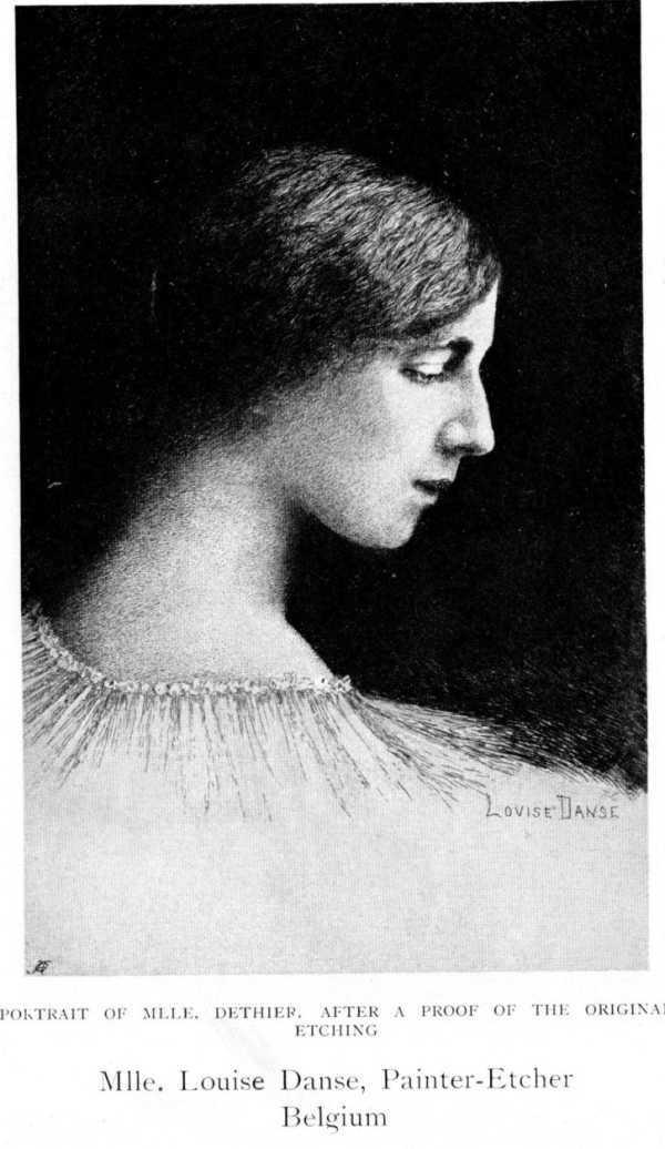 Domaine public_Louise Danse_Portrait of Mlle Dethier