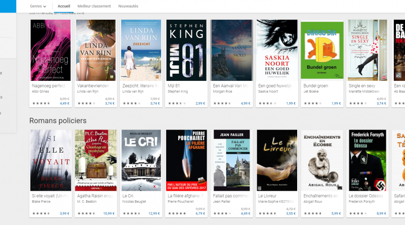 Google Play Books_à la une