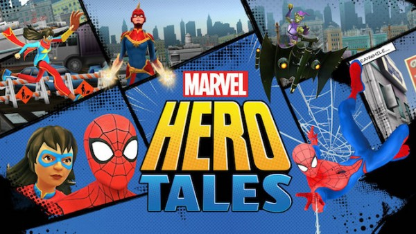 marvel hero tales_à la une