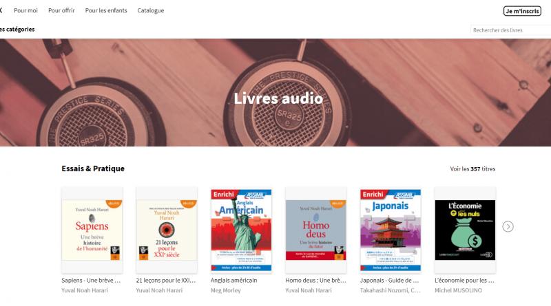 livres audio youboox_à la une
