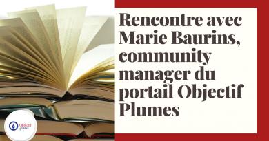 ITW Marie Baurins_à la une