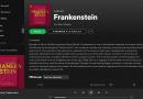 Spotify lance sa bibliothèque de livres audio avec des classiques lus par des célébrités