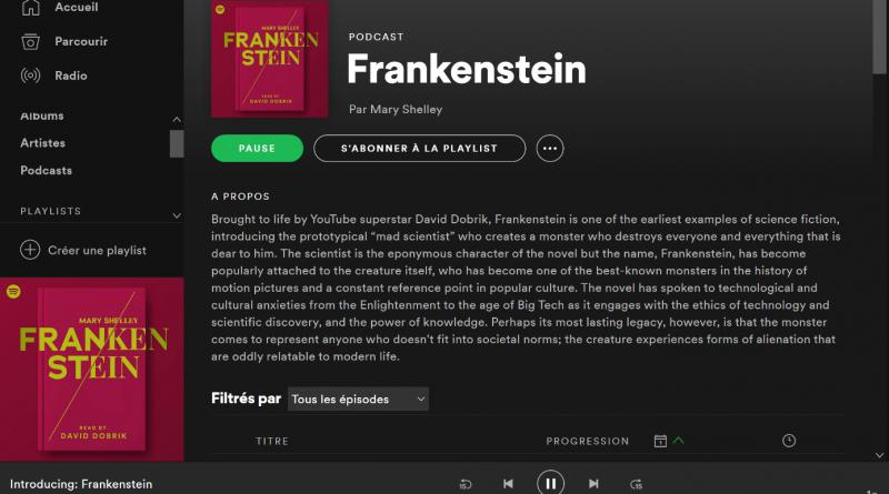 Spotify_Frankenstein_Lettres numériques