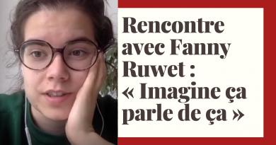 Rencontre avec Fanny Ruwet_à la une