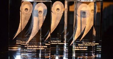 Lauréats Plume de Paon 2021_à la une